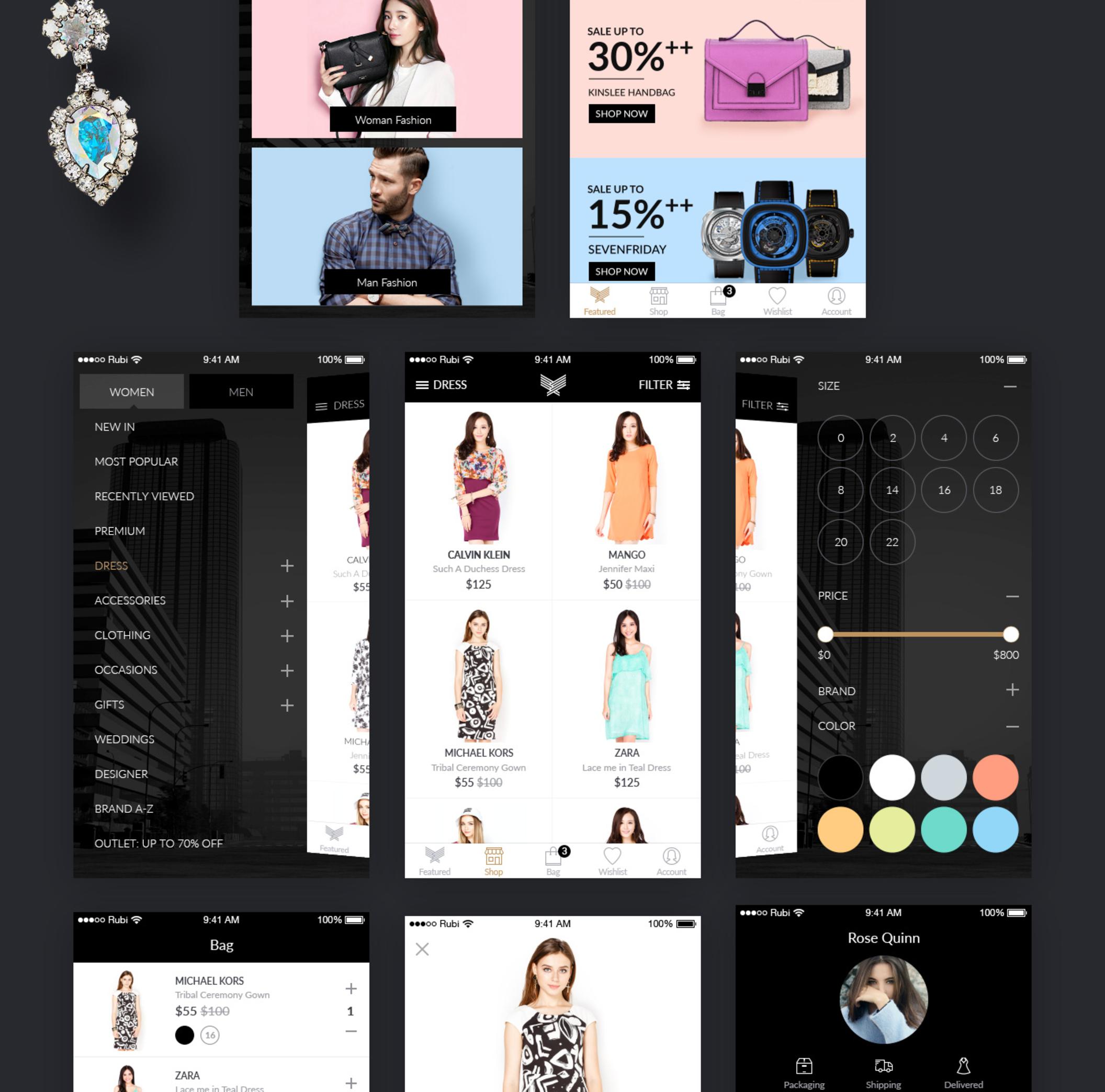 Indeux - Fashion Store [Sketch]