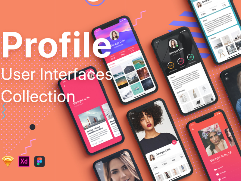 Profile Mobile UI Collection preview picture