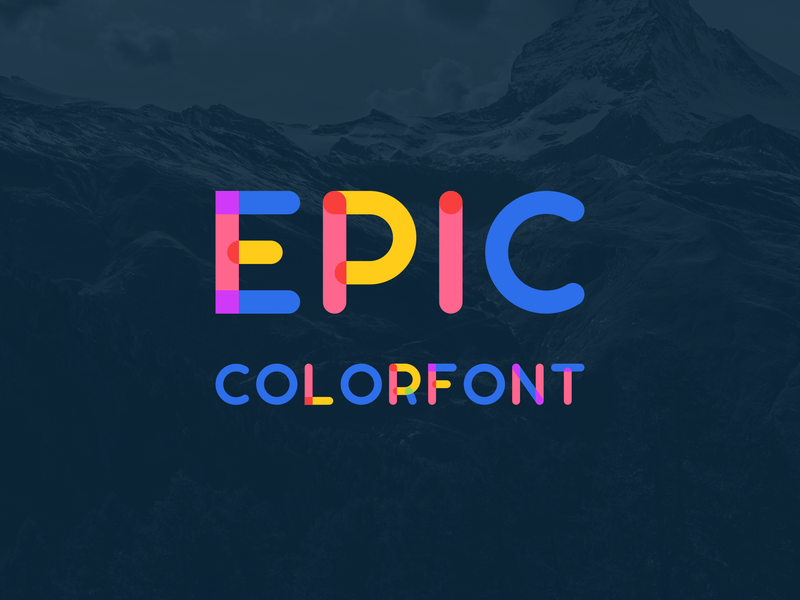 Epic Colorfont preview picture