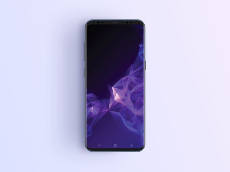 Samsung S9 Phone Mockup preview picture