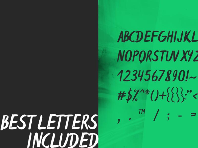 Espa Free Brush Font