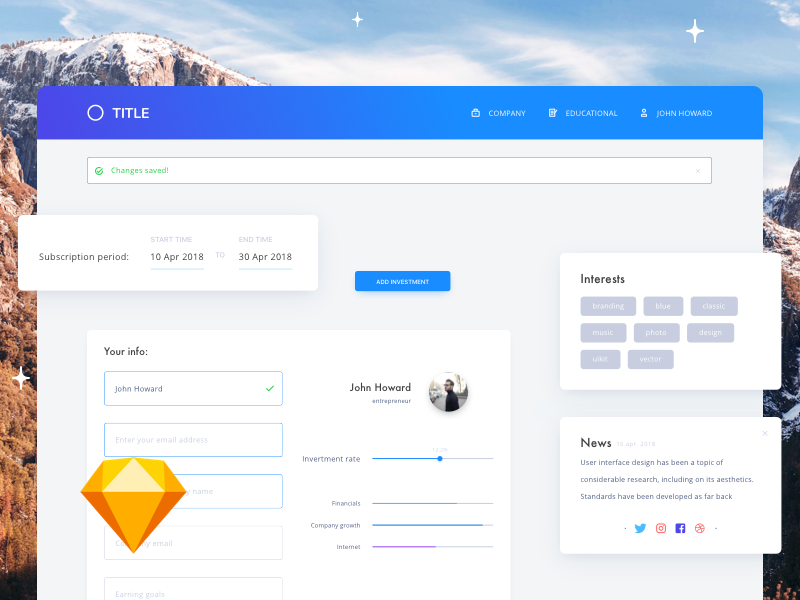 Creative Elements UI Kit preview picture