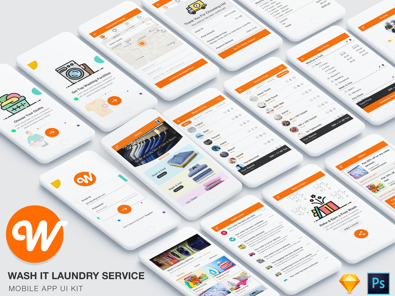 Wash it laundry service preview picture