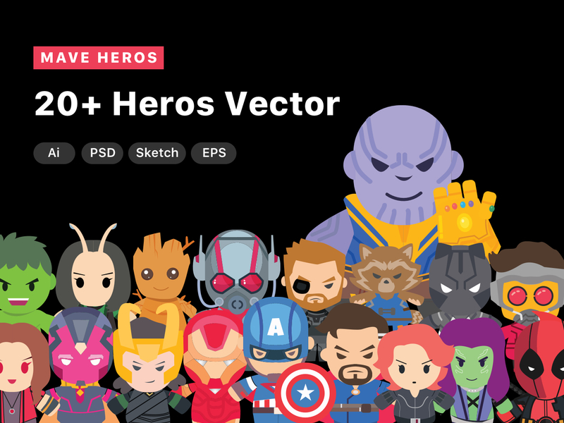 Mave Heros Vector preview picture