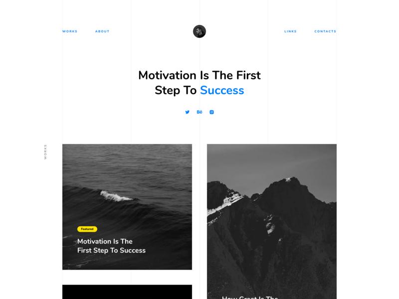 Portfolio – Free Landing page