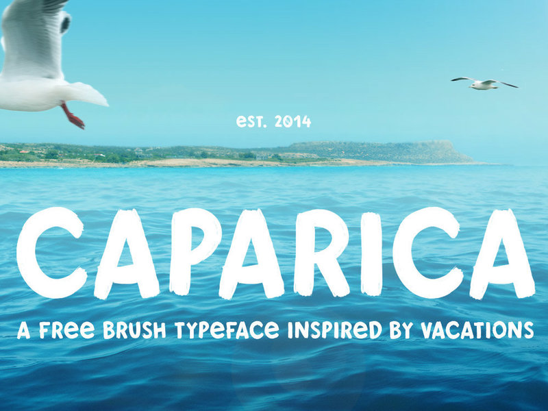 Caparica - Free Typeface preview picture