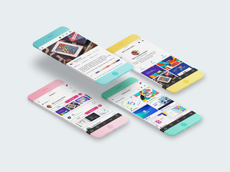 New Minimalistic Phone Mockups