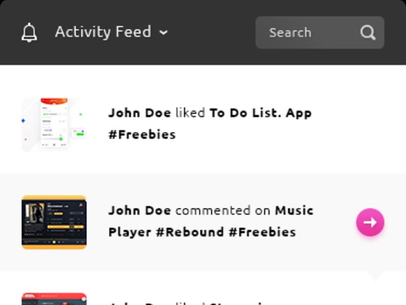 Activity Feed App