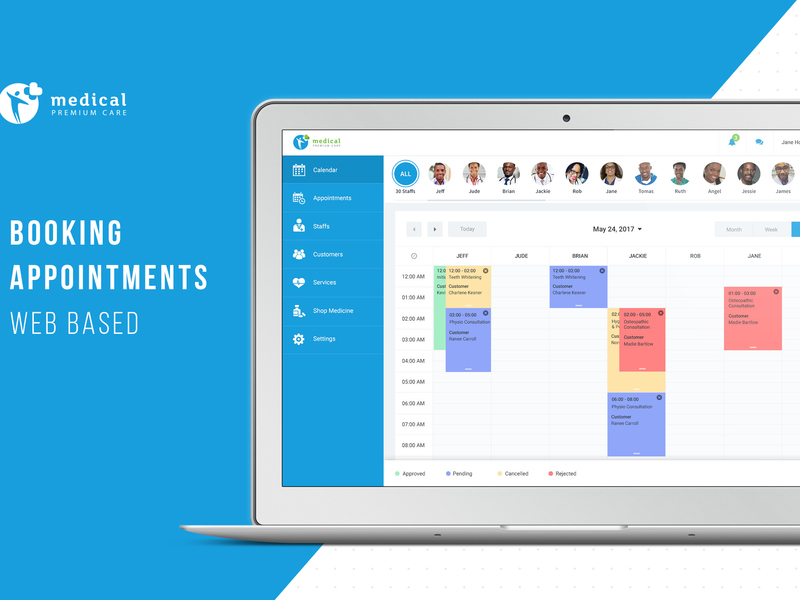 Booking Appointment Doctor UI Kit preview picture