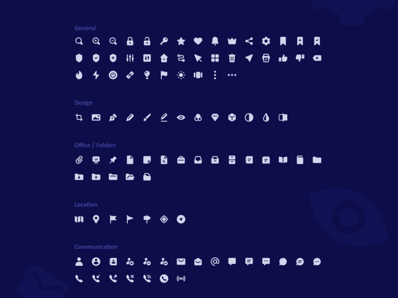 ATOM Icons! 210 Vector icons