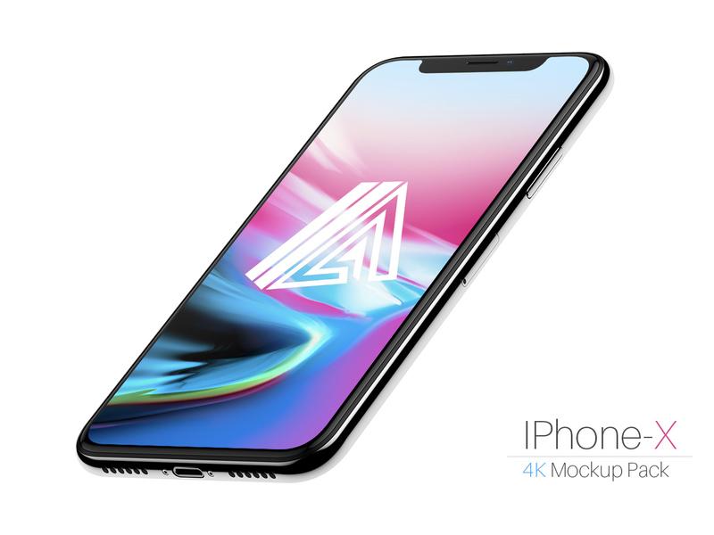 FREE iPhone-X Mockup PSD