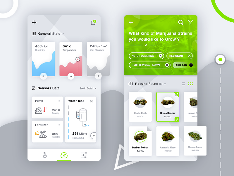 Hydroponics Medical Marijuana App preview picture