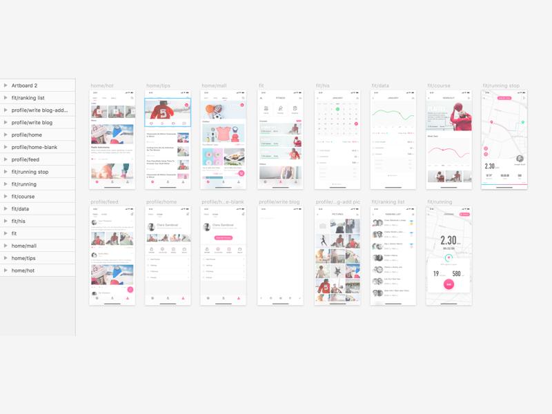 UI Kit Sport App