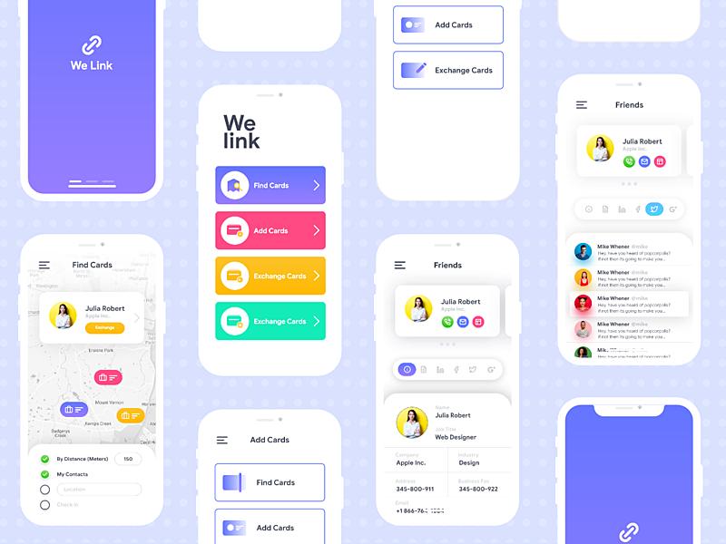 We Link App Ui Kit