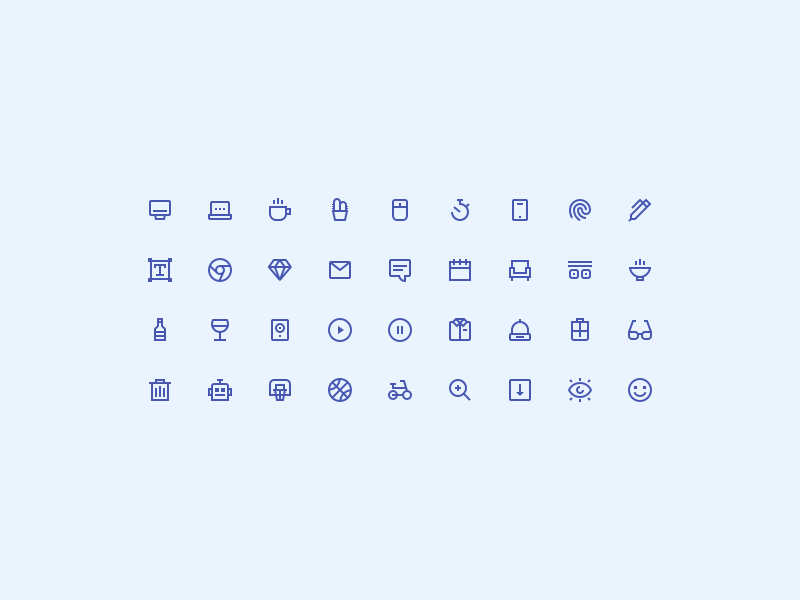 Tiny Insane Icons [SKETCH, AI[ preview picture