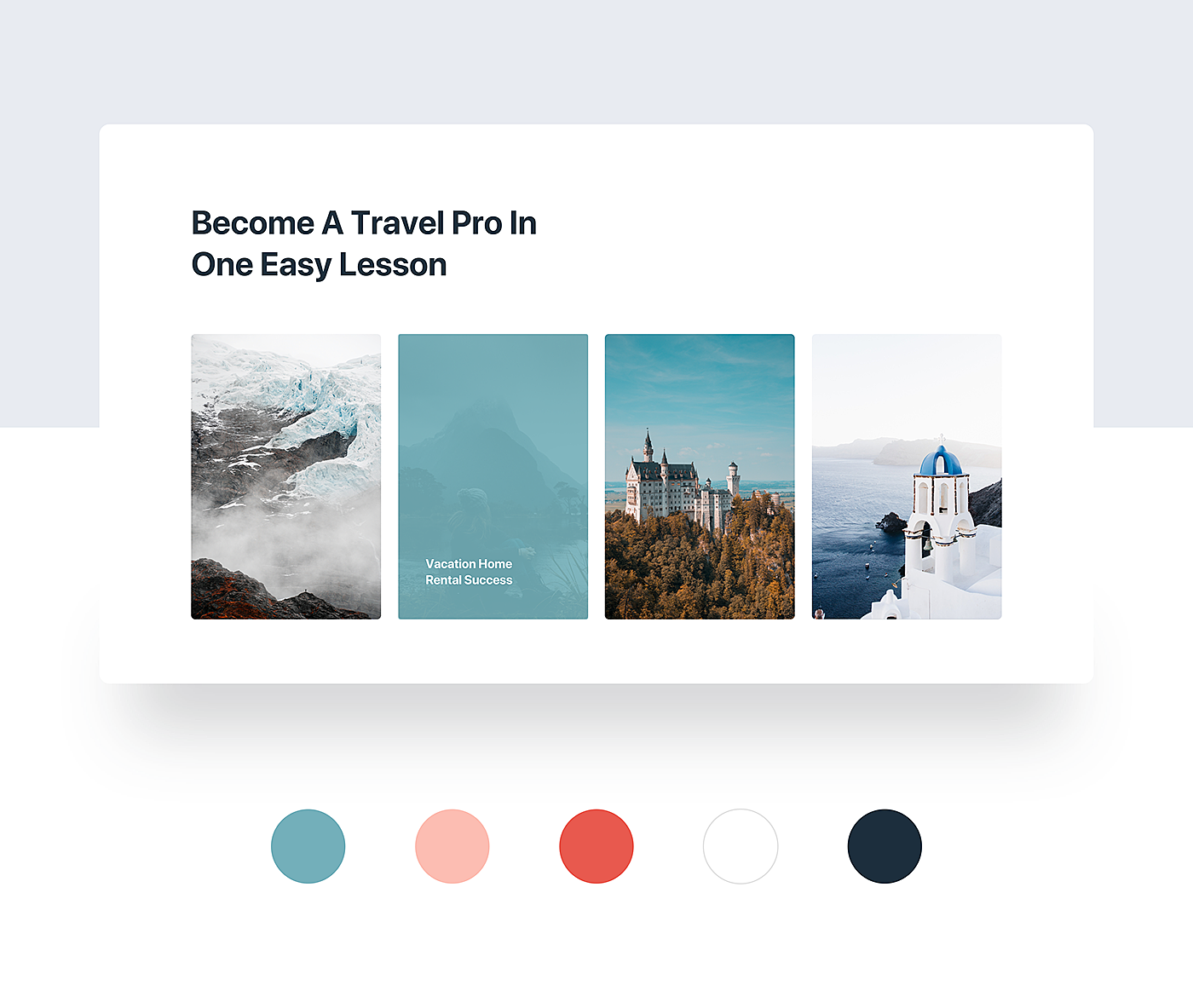 Mi Travel – Free Website Sketch Template