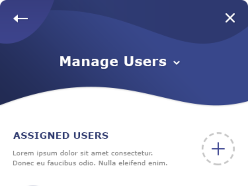 Manage Users App