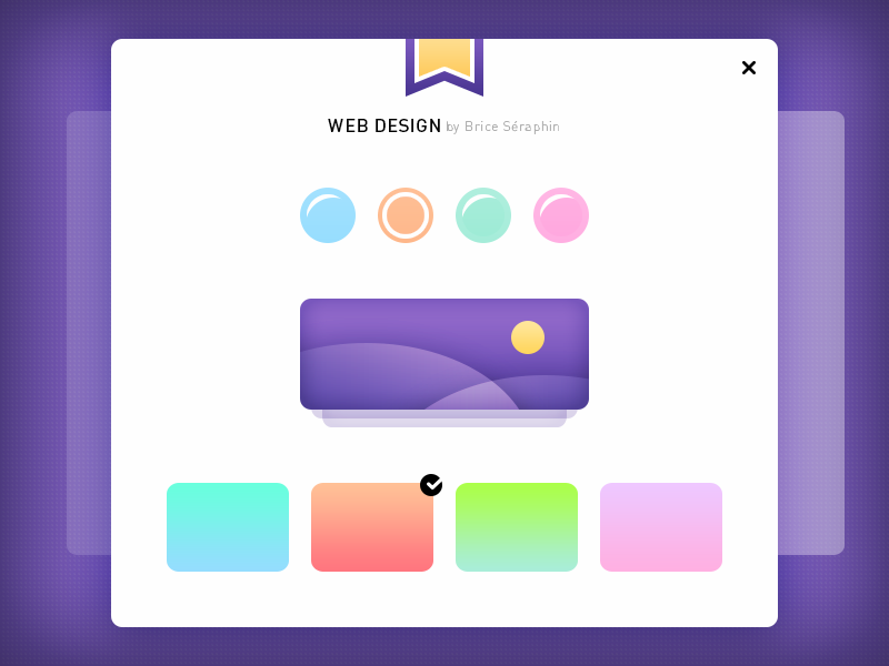 WebDesign freebie preview picture