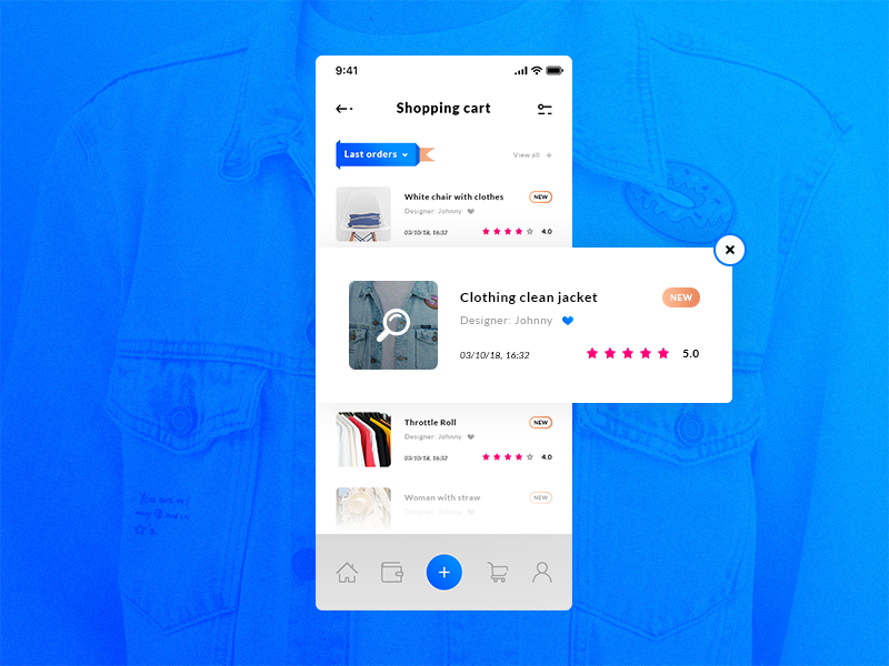 Shopping Cart - iOS App preview picture
