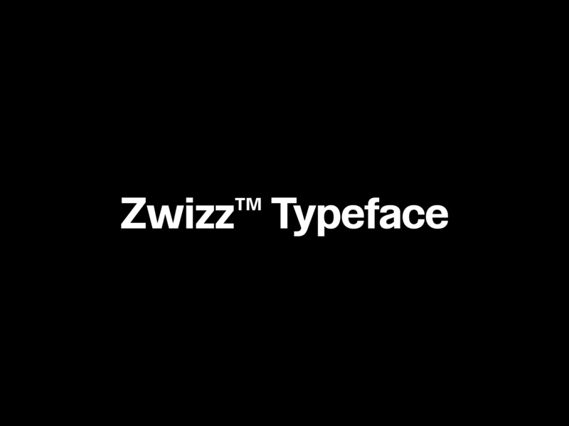 Zwizz Free Font preview picture