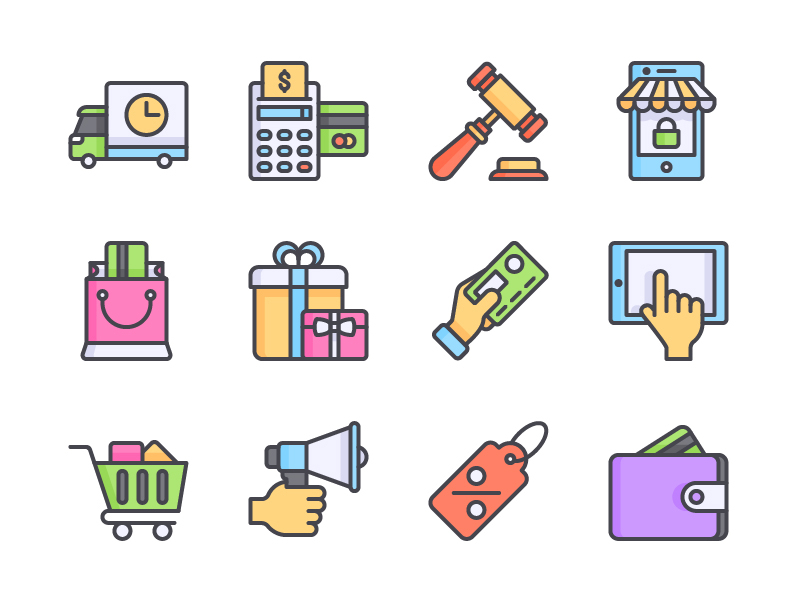E-commerce Icon Set preview picture