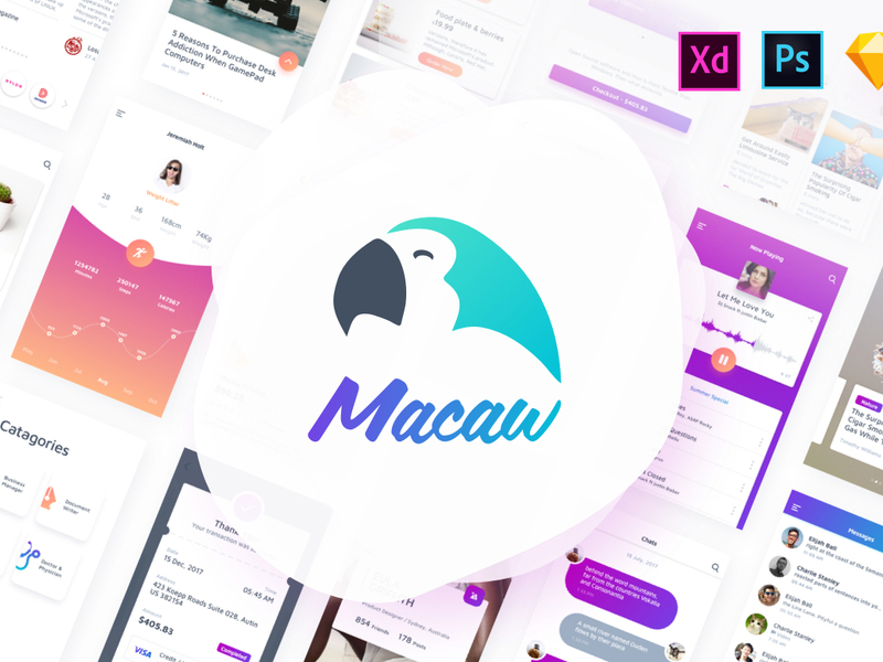 Macaw UI Kit preview picture