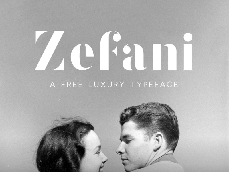 Zefani - Free Type Family preview picture