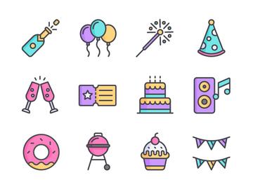 Party Icon Set