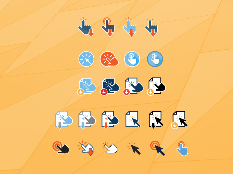 'Click' to Download Icons preview picture