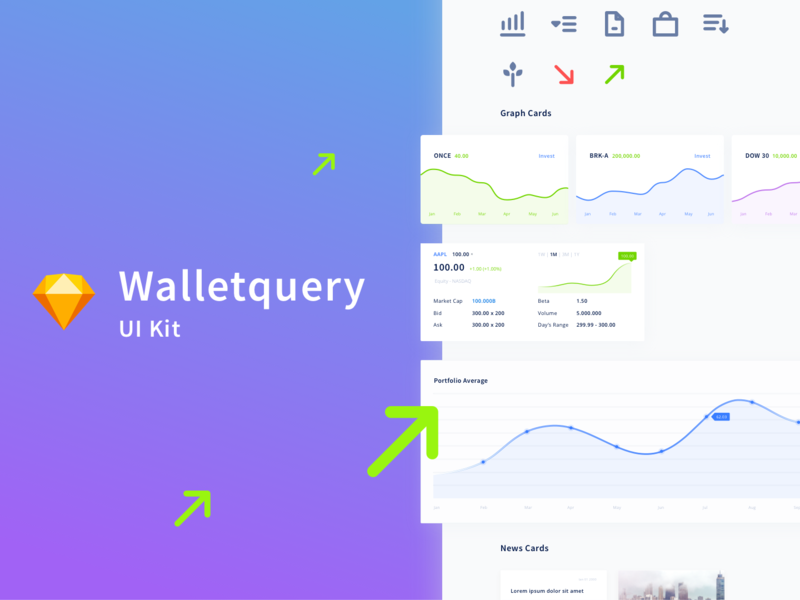Walletquery Dashboard UI Kit