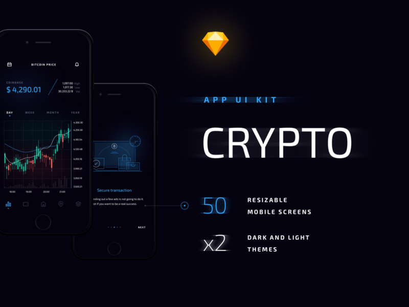 Crypto Mobile UI Kit
