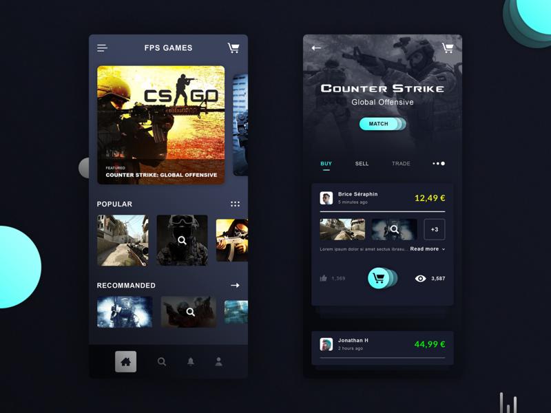 CS:GO Games App