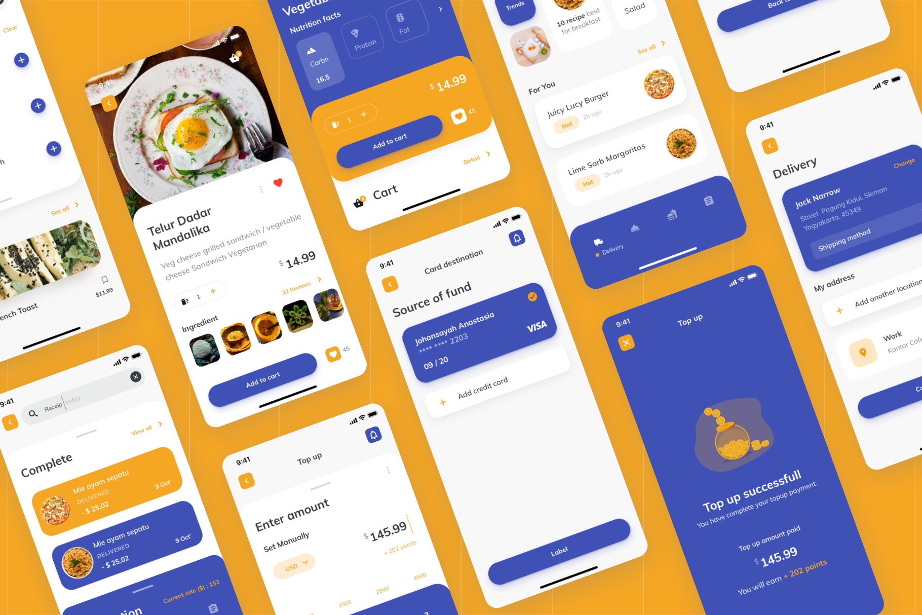 AIRI Food UI Kit
