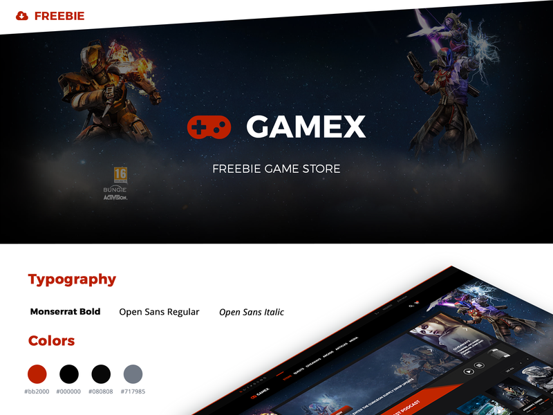 FREEBIE Gamex Store preview picture
