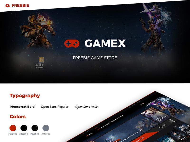 FREEBIE Gamex Store