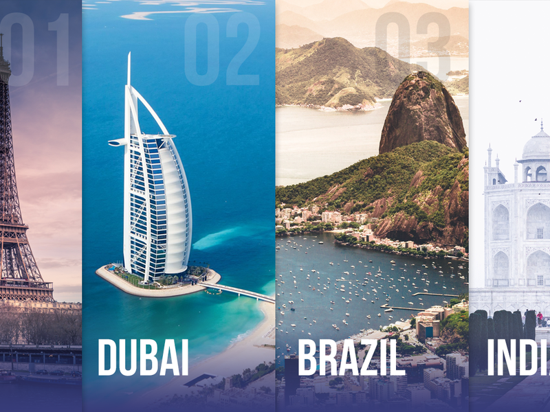 Choose Your Destination - PSD  preview picture