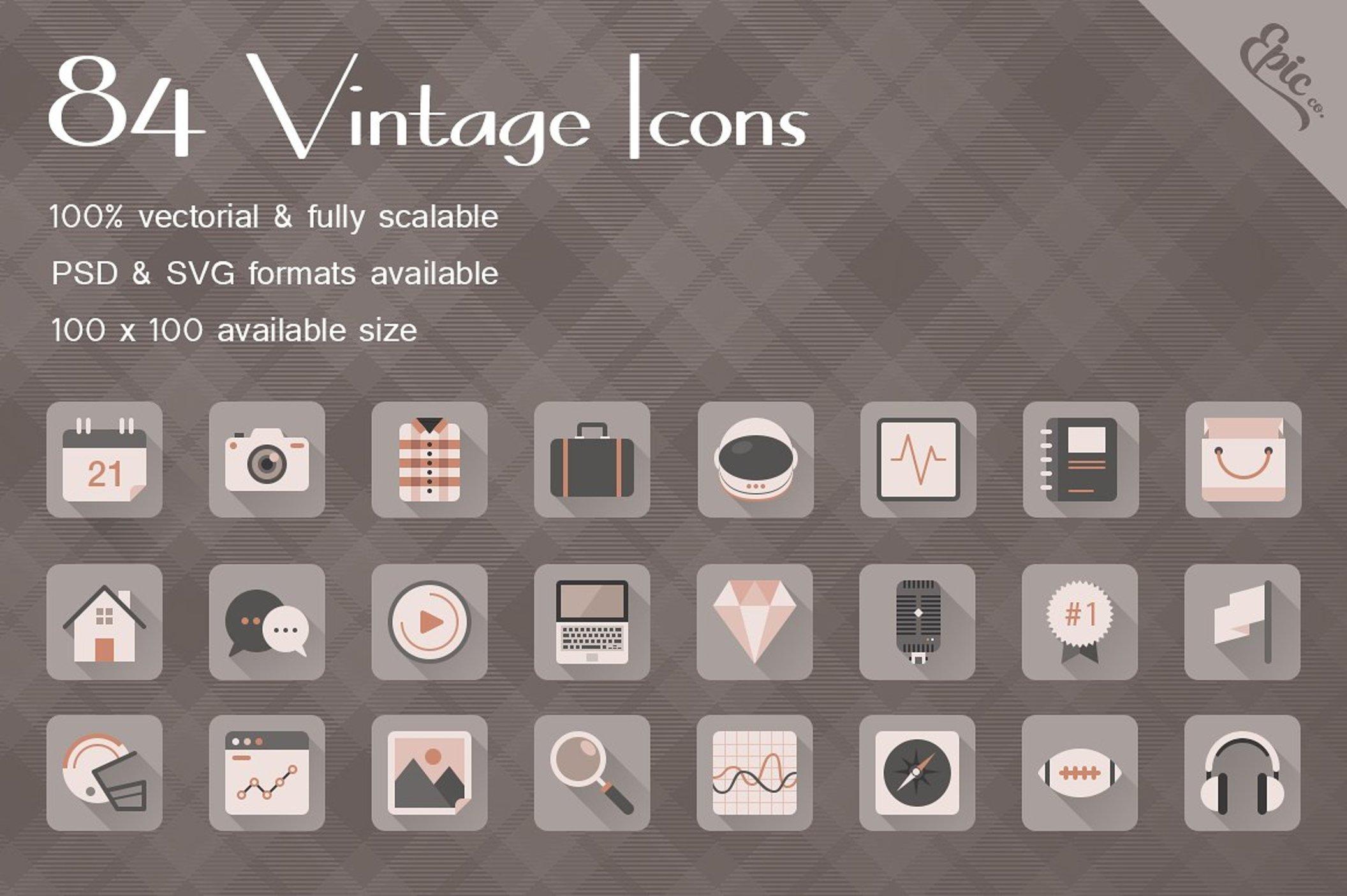 Epic Vintage Icons