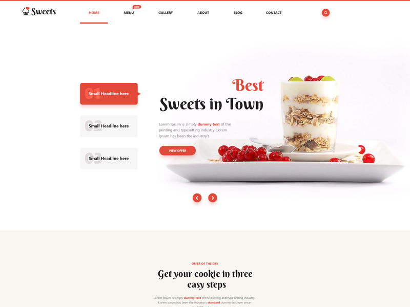 Sweets UI Kit