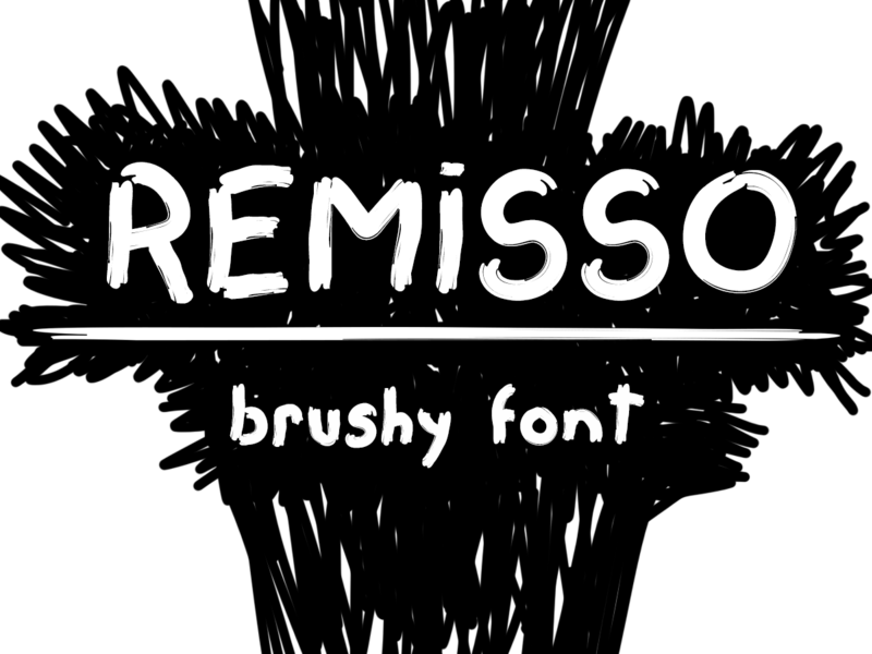 Remisso Font preview picture
