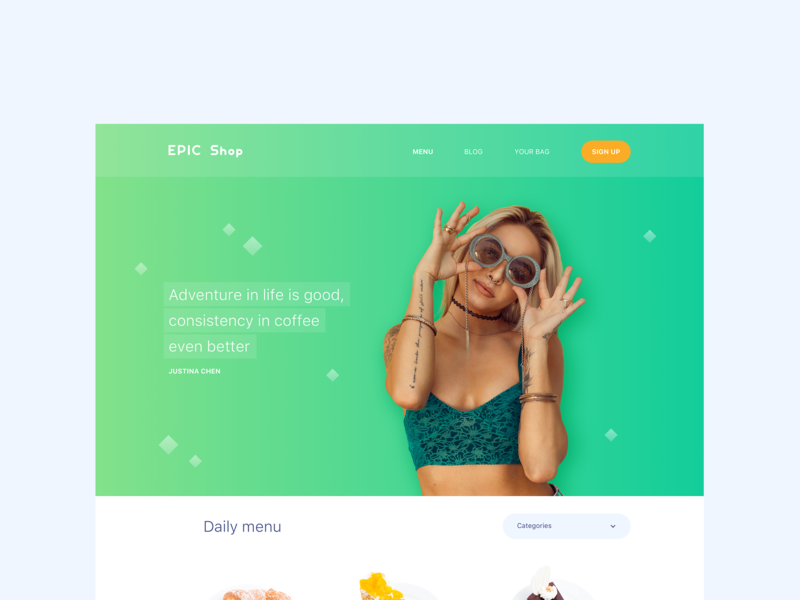 Epic Shop UI Kit