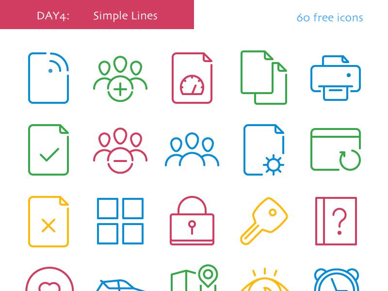 Simple Lines freebie