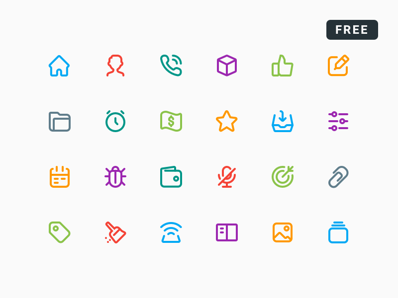 Smart Lines Icons