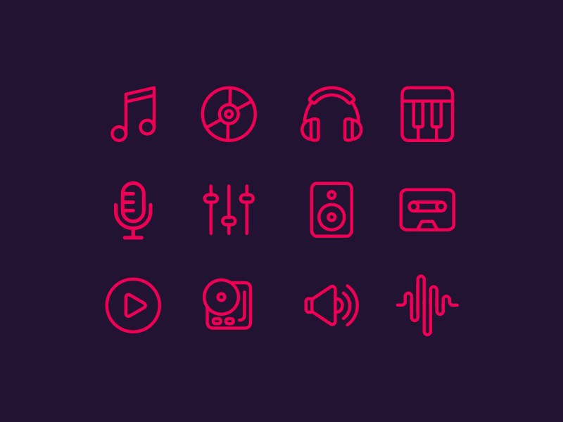 Music Icons preview picture