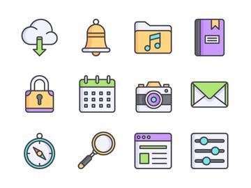 Ui Interface Icon Set