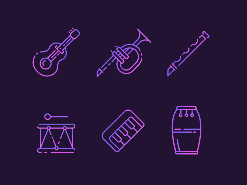 Musical Instruments Freebie preview picture