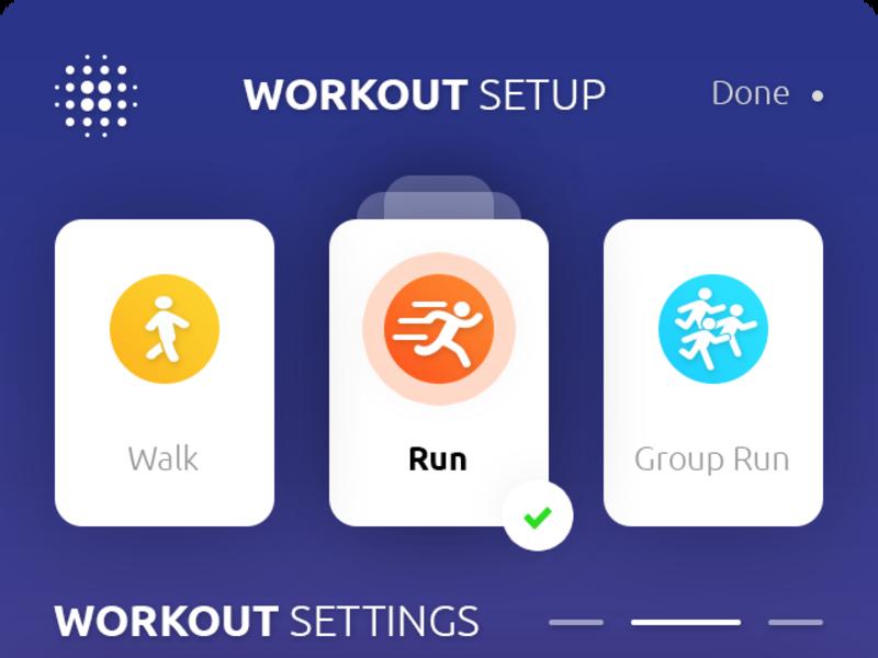 Workout Setup App
