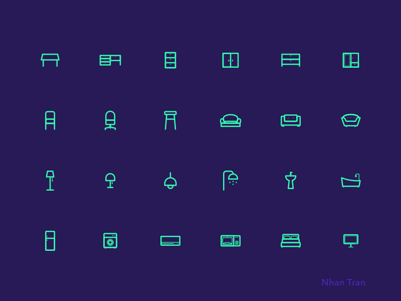 Furniture Icons preview picture