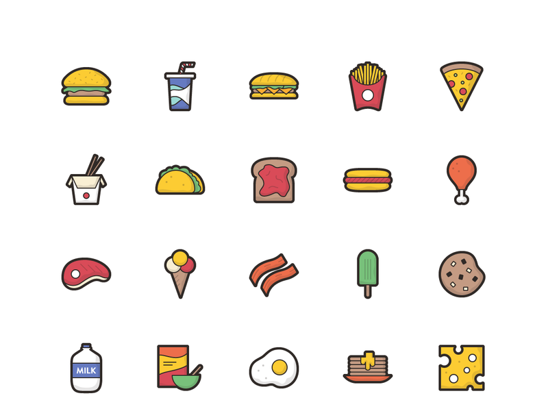 Remy - 50 Food Icons