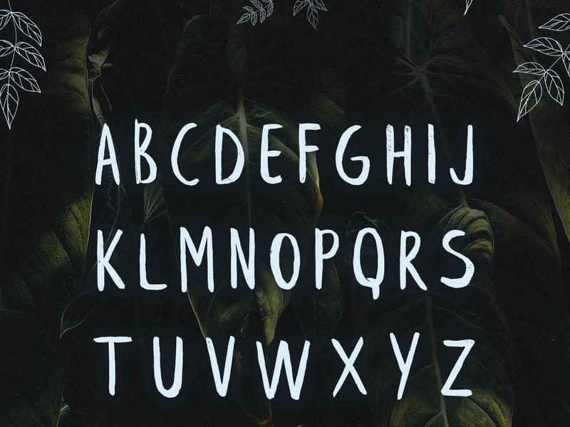 Leafy - Free Font