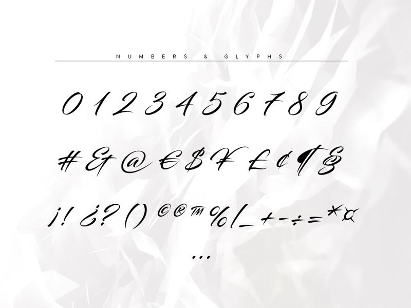 Blacksword Typeface